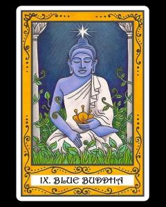 9 Blue Buddha