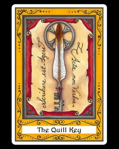 The Quill Key