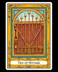 Ten of Arrows