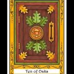 Ten of Oaks