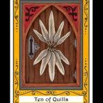 Ten of Quills