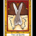 Two of Quills