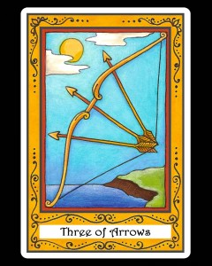 Three of Arrows
