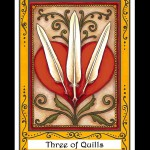 Three of Quills