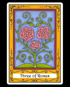 Three of Roses