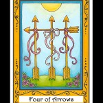 Four of Arrows