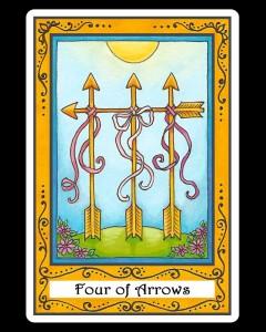 Four of Arrows
