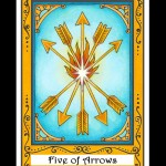Five of Arrows