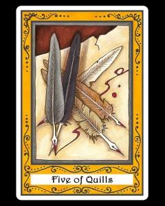 Five of Quills