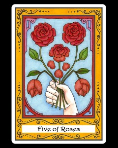 Five of Roses