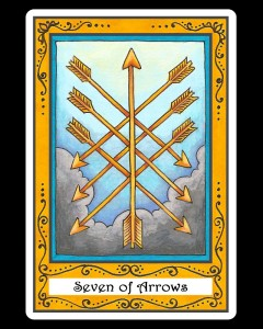Seven of Arrows