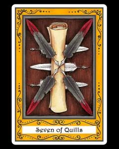 Seven of Quills