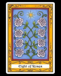 Eight of Roses