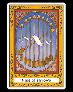 Nine of Arrows
