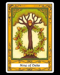 Nine of Oaks
